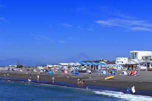 夏のサザンビーチちがさき海水浴場の写真素材 [FYI03007255]