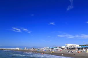 夏のサザンビーチちがさき海水浴場の写真素材 [FYI03007256]