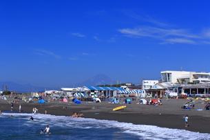 夏のサザンビーチちがさき海水浴場の写真素材 [FYI03007258]