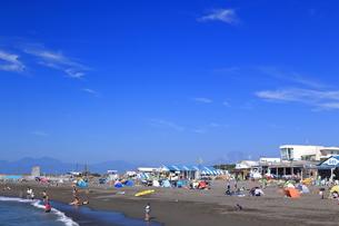 夏のサザンビーチちがさき海水浴場の写真素材 [FYI03007260]