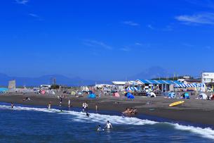 夏のサザンビーチちがさき海水浴場の写真素材 [FYI03007263]