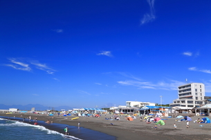 夏のサザンビーチちがさき海水浴場の写真素材 [FYI03007267]