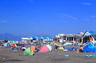 夏のサザンビーチちがさき海水浴場の写真素材 [FYI03007269]