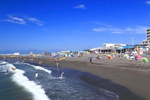 夏のサザンビーチちがさき海水浴場の写真素材 [FYI03007270]