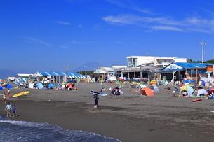 夏のサザンビーチちがさき海水浴場の写真素材 [FYI03007271]