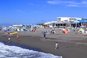 夏のサザンビーチちがさき海水浴場の写真素材 [FYI03007273]