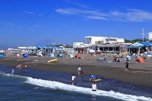 夏のサザンビーチちがさき海水浴場の写真素材 [FYI03007275]