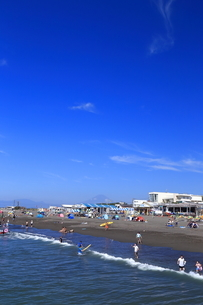 夏のサザンビーチちがさき海水浴場の写真素材 [FYI03007276]