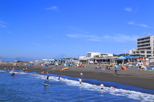 夏のサザンビーチちがさき海水浴場の写真素材 [FYI03007279]