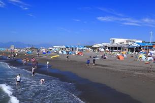 夏のサザンビーチちがさき海水浴場の写真素材 [FYI03007281]