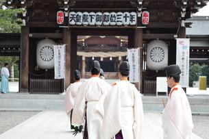 寒川神社の宮司の写真素材 [FYI03007315]