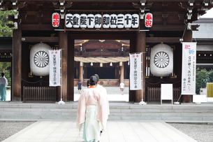 寒川神社の宮司の写真素材 [FYI03007324]
