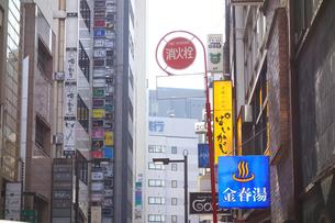 東京銀座の金春湯の写真素材 [FYI03007366]