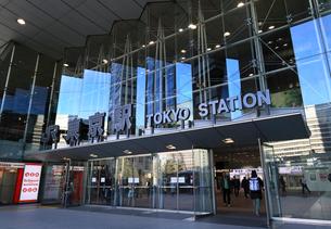 東京駅日本橋口の写真素材 [FYI03007534]