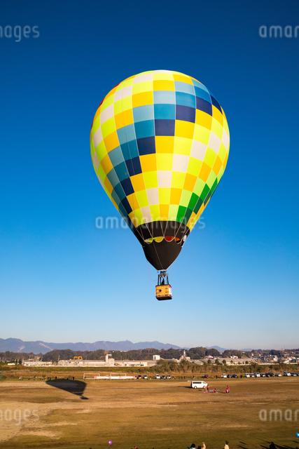 鈴鹿バルーンフェスティバルの熱気球の写真素材 [FYI03007780]
