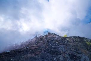 硫黄山の冬の写真素材 [FYI03007852]