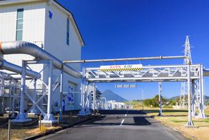 山川地熱発電所の写真素材 [FYI03007909]