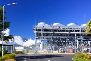 山川地熱発電所の写真素材 [FYI03007912]