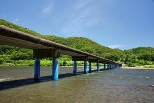 佐田の沈下橋の写真素材 [FYI03008298]