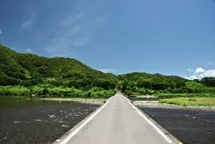 佐田の沈下橋の写真素材 [FYI03008304]