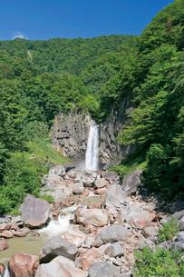 苗名滝の写真素材 [FYI03008397]