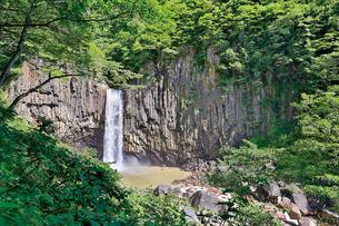 苗名滝の写真素材 [FYI03008412]