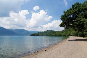夏の十和田湖畔の写真素材 [FYI03008575]