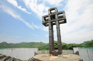 教会の見えるチャペルの鐘展望公園の写真素材 [FYI03008920]