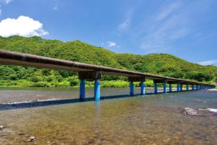 佐田の沈下橋の写真素材 [FYI03009150]