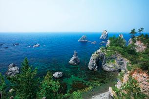 青海島の海上アルプスの写真素材 [FYI03009259]