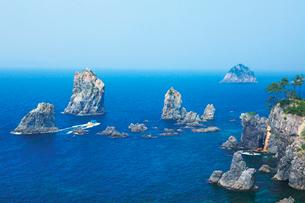 青海島の海上アルプスの写真素材 [FYI03009260]