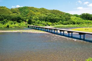 佐田の沈下橋の写真素材 [FYI03009326]