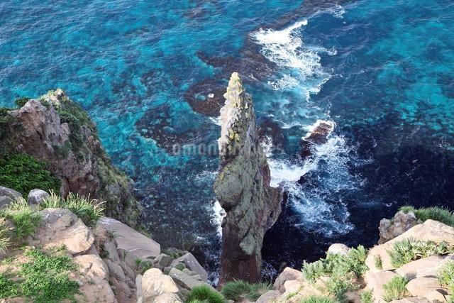 赤岩 天売島の写真素材 [FYI03009446]