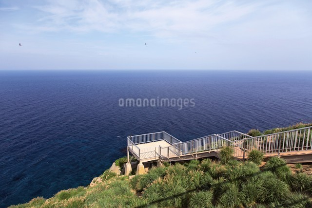 赤岩展望台 天売島の写真素材 [FYI03009721]