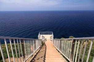 赤岩展望台 天売島の写真素材 [FYI03009724]