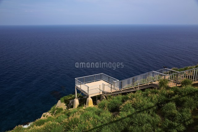 赤岩展望台 天売島の写真素材 [FYI03009725]