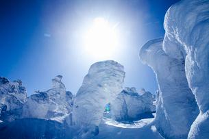 蔵王の樹氷の写真素材 [FYI03009901]