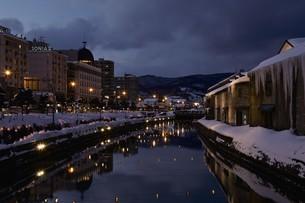 小樽雪あかりの路の写真素材 [FYI03010192]