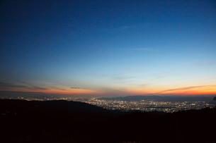比叡山ドライブウェイから京都府の眺望の写真素材 [FYI03010391]