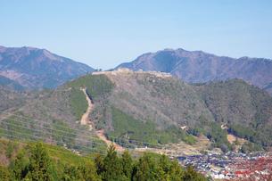 立雲峡から望む竹田城の写真素材 [FYI03010653]
