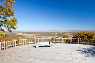 湿原展望台から眺める釧路湿原の写真素材 [FYI03010823]