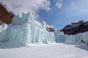 層雲峡氷瀑まつりの写真素材 [FYI03012027]