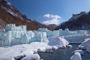 層雲峡氷瀑まつりの写真素材 [FYI03012050]