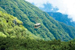 駒ヶ岳ロープウェイの写真素材 [FYI03012443]