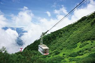 駒ヶ岳ロープウェイの写真素材 [FYI03012449]