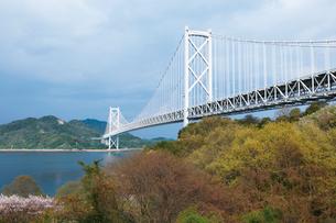 しまなみ海道を構成する因島大橋の写真素材 [FYI03012673]