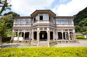 洋風建築の旧鹿児島紡績所技師館の写真素材 [FYI03013626]