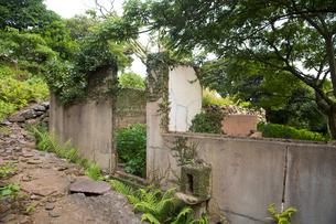 野崎島 旧野崎集落の写真素材 [FYI03014032]