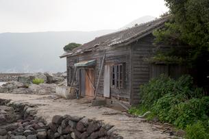 野崎島 旧野崎集落の写真素材 [FYI03014034]