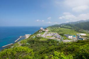 竜飛崎より津軽海峡を望むの写真素材 [FYI03014289]